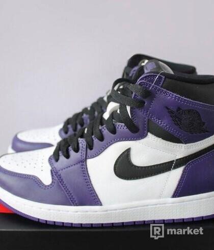 Air Jordan 1 Retro High [Court Purple]