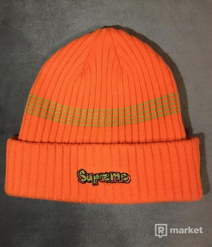 Supreme GONZ logo beanie Orange