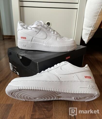 "Nike Air Force 1 Low x Supreme - ""White"""