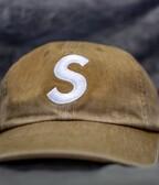 Supreme Pigment Print S Logo 6-Panel