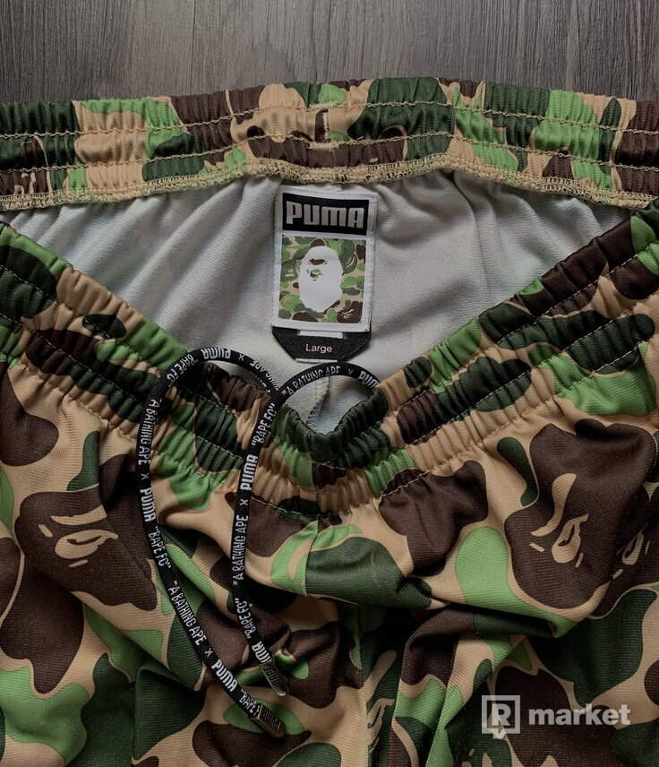 BAPE X PUMA SWEATPANTS