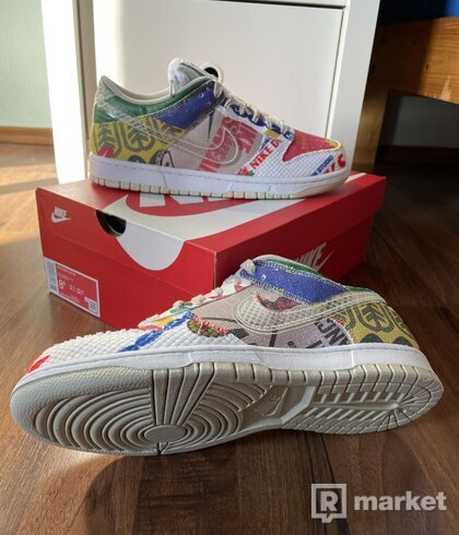 "Nike Dunk Low ""City market"""