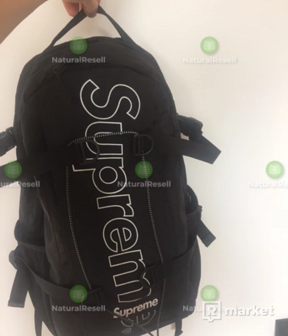 Supreme Backpack 3m Ss/18 (Black)