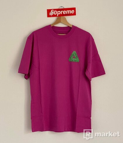 Palace Tri-Slime T-Shirt Pink