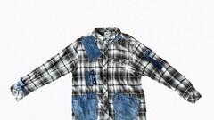 Denin & Flannel Shirt