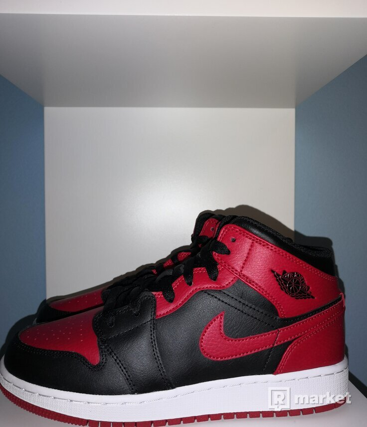 Jordan 1 Mid Banned GS (2020) All Sizes