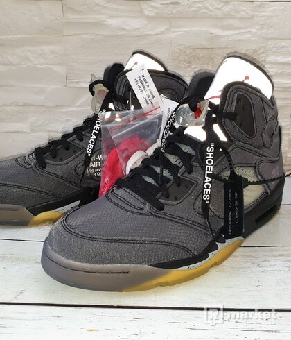 Nike jordan 5 retro off-white