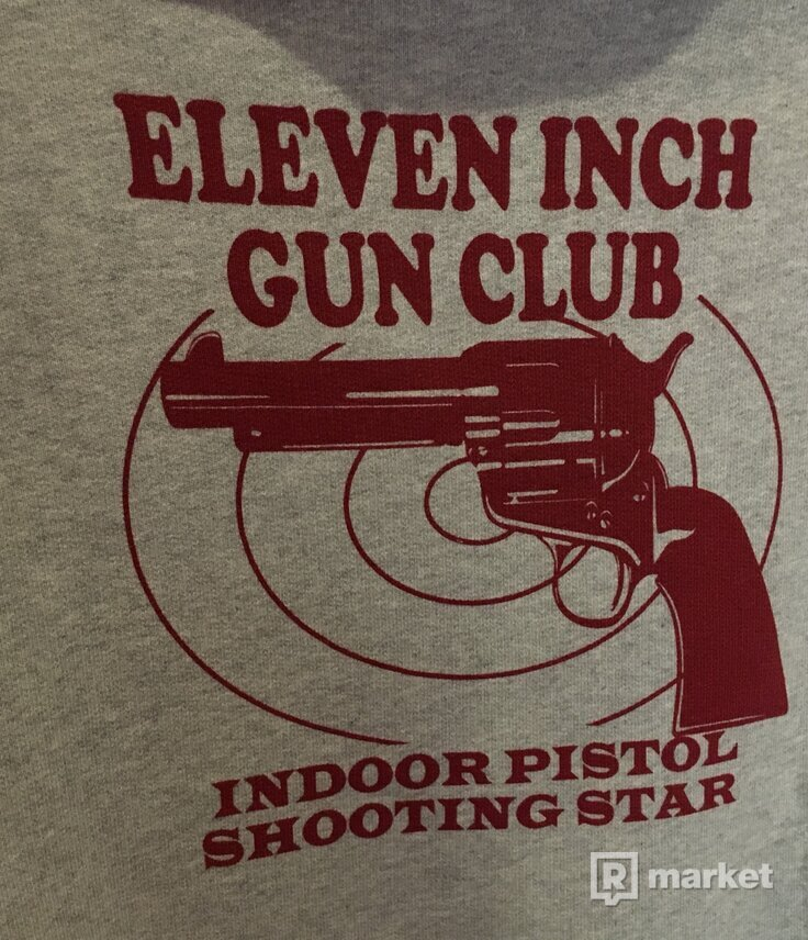 Vetements Eleven Inch Gun Club hoodie