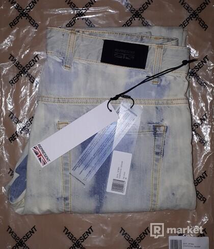 REPRESENT Essential Denim - Tie Dye