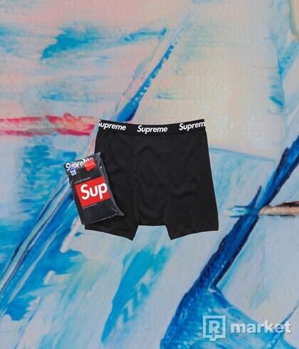 Supreme x Hanes Boxer Briefs
