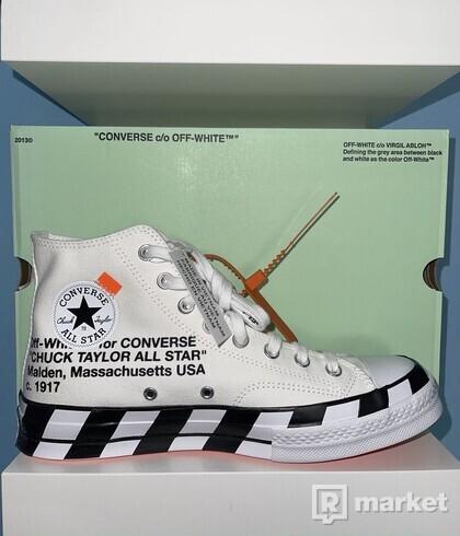 Off-White x Converse Chuck Taylor 42.5