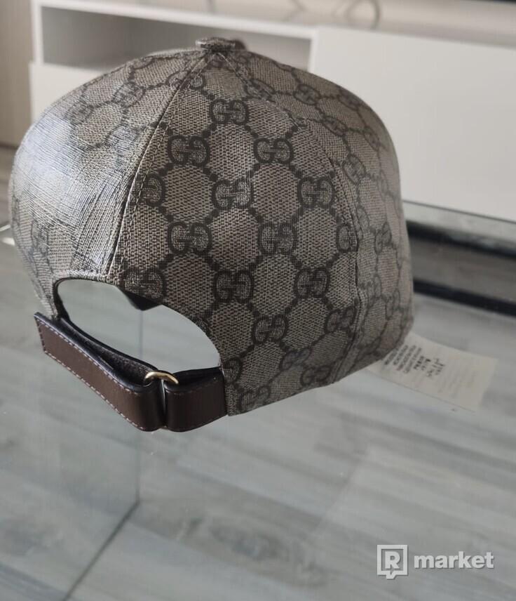 Gucci boutique print baseball cap