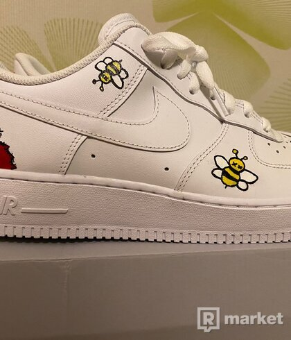 Nike Air Force 1 Custom 'Kaws x Sesame Street'