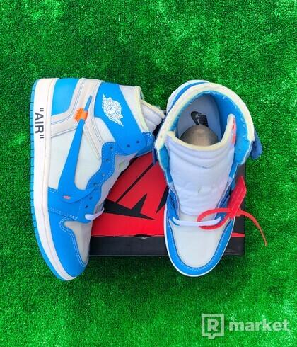 Nike Air Jordan 1 High Off-White UNC