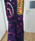 BAPE camo shark purple mikina