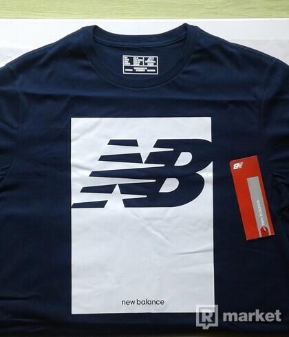 """New Balance tričko """"L"""" - modré"""