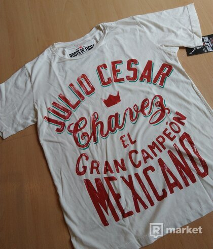 Roots of Fight Tricko - El Gran Chavez - Biele