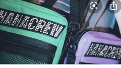 Dalyb HAHACREW svarovski shoulder bag