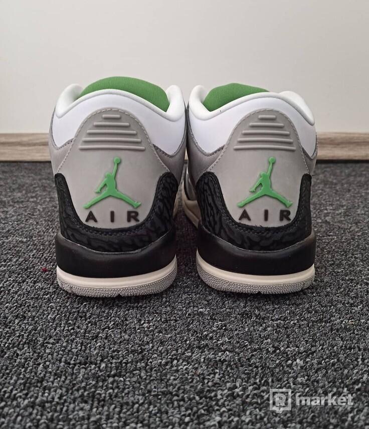 Nike air Jordan 3 chlorophyll