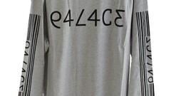 Palace Par code Longsleeve Tee Grey