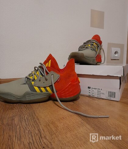 """Adidas Harden vol.4 ,,spitfire"""""""