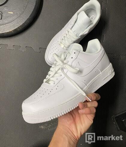Nike air force low biele white 44,5