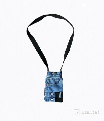 Reconstructed Crossbody Bag