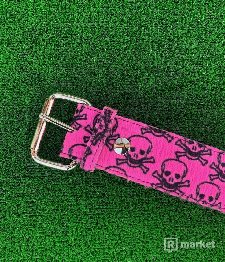 Pink Skull Belt