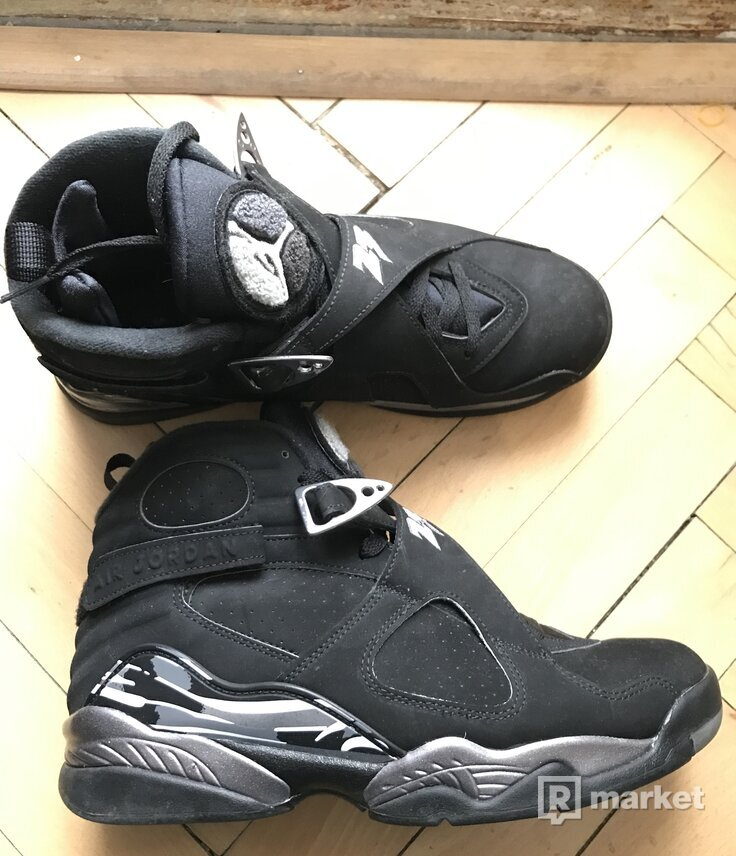 "Air Jordan 8 Retro ""chrome"" veľ. 42 release 2015"