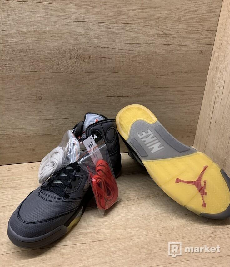 Nike Air Jordan 5 x OFF-WHITE