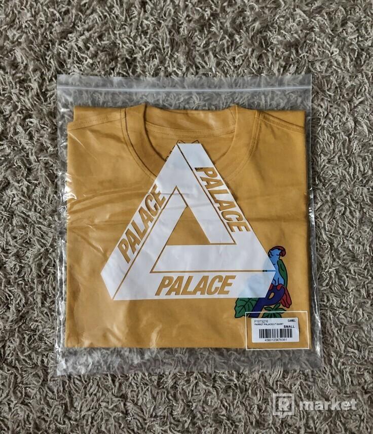 Parrot Palace-3 T-Shirt Camel (FW20), size S