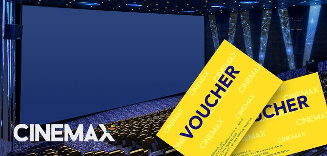 1+1 lístok zdarma v sietí kín CINEMAX