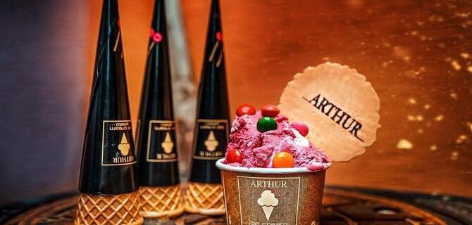 Kopček zmrzliny od Arthur gelato BA