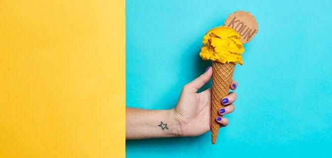 2 kopčeky zmrzliny od KOUNU