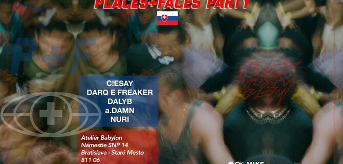 Vstup na Places + Faces v Bratislave